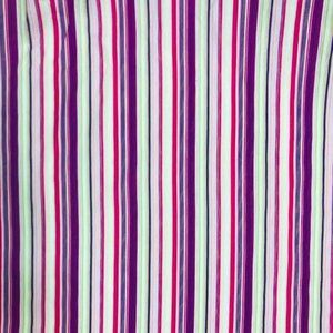 "Striped 100 % Cotton Fabric 60"" wide"